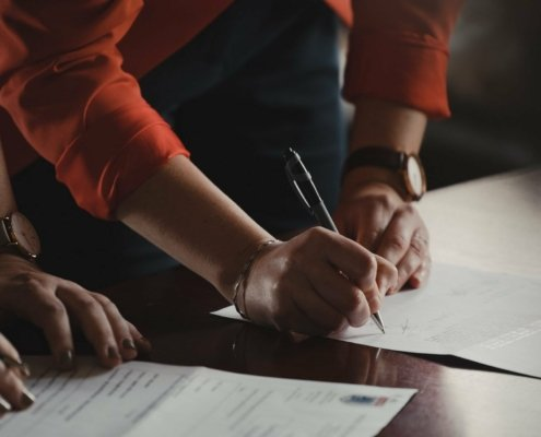 Aufhebungsvertrag betriebsbedingt